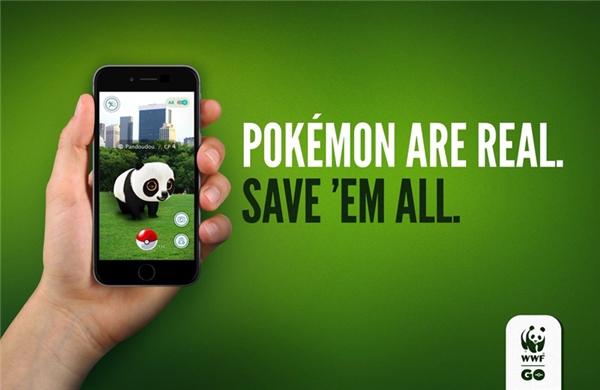 Pokemon là có thật. Hãy bảo vệ chúng.