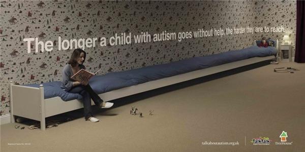 Một đứa trẻ càng sống lâu với bệnh tự kỷ mà không được giúp đỡ, đứa trẻ đó sẽ càng xa lánh với xã hội.