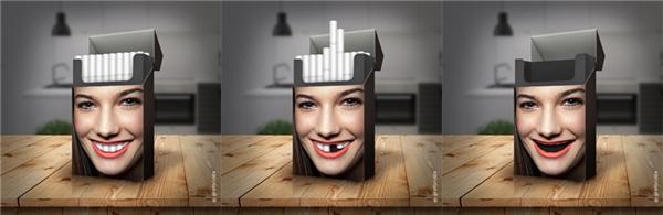 Một điếu thuốc rút ra khỏi bao, một phần thân thể cũng hủy hoại theo.