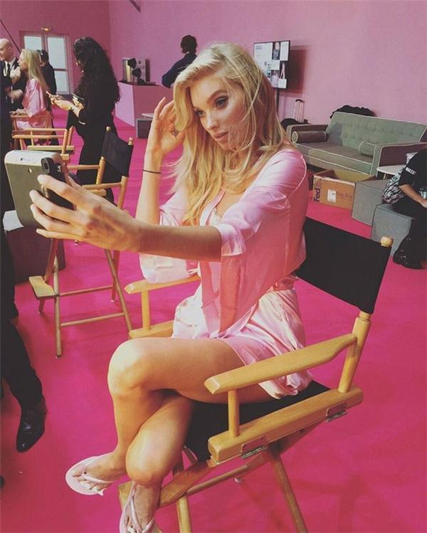 Elsa Hosk thiên thần tóc vàng quyến rũ của Victoria's Secret.