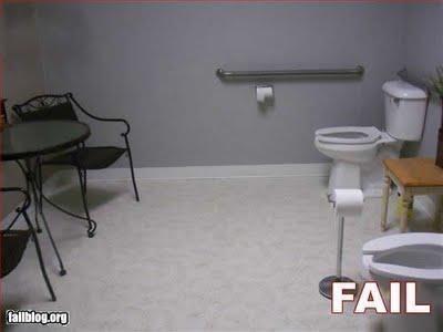 Thật ra đây chỉ là những chiếc ghế lấy cảm hứng từ bồn cầu thôi mà.