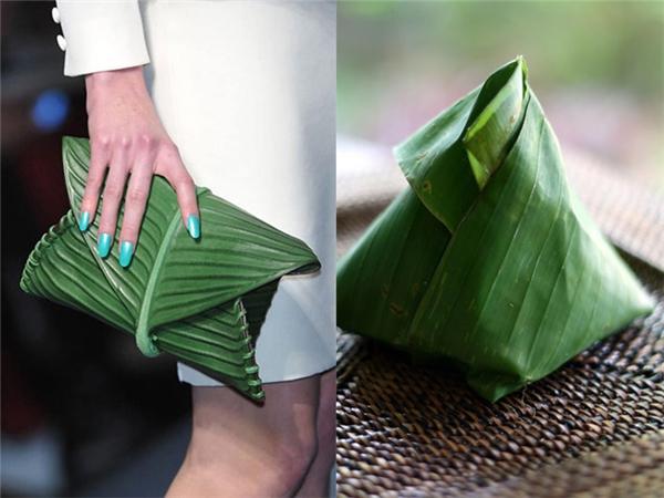 Nhiều người so sánh thiết kế bên trên với gói xôi lá chuối dân giã, bình dị mà người Việt hay dùng.