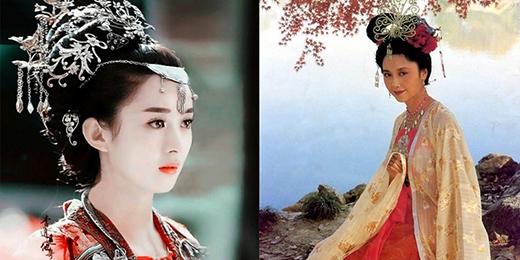 Triệu Lệ Dĩnh được đem ra so sánh với Chu Lâm, người đã thể hiện vai diễn vào hàng kinh điển.