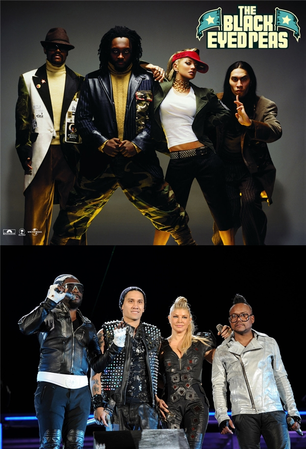 The Black Eyed Peas: Trong thời gian hoạt động, nhóm gặt hái được vô số thành công và giải thưởng, trải qua hai lần tạm ngưng hoạt động. Tháng 08/2016, họ ra mắt phiên bản mới của bản hit Where Is the Love? và không có thêm hoạt động nào khác từ đó đến nay.