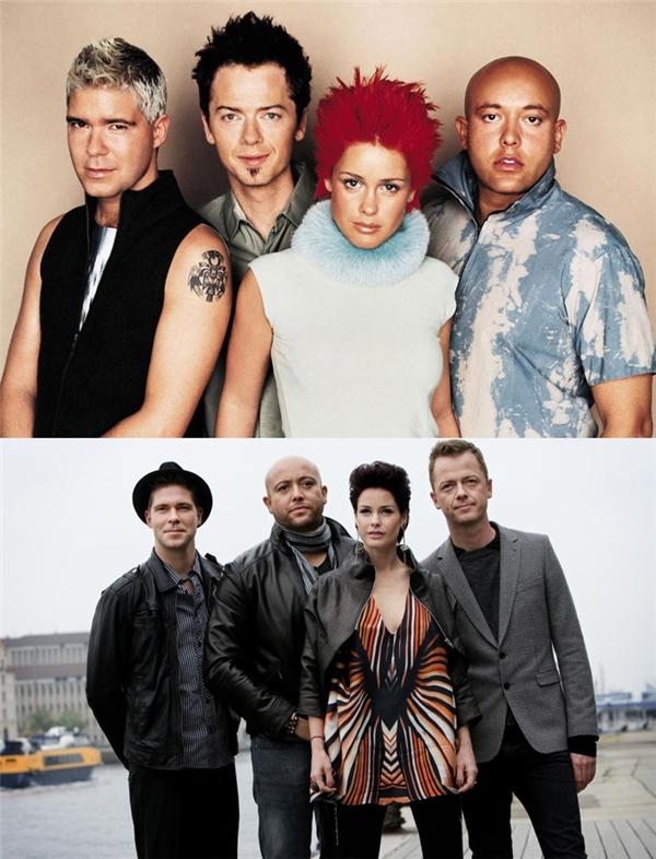 Aqua: Nhóm nhạc dễ thương với các ca khúc nhí nhố như Barbie Girl hay My Oh My này tan rã vào năm 2001. Đến năm 2007 họ tái hợp và tổ chức một số tour diễn khắp Đan Mạch, Canada, Mỹ và Anh. Đến nay họ không còn hoạt động nào khác.
