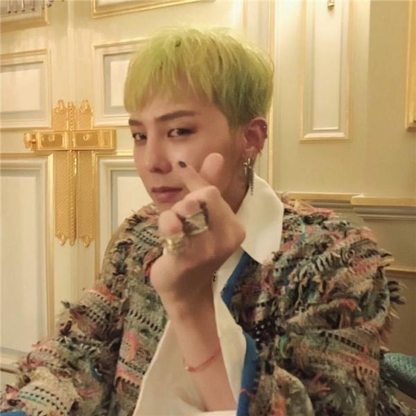 G-Dragon khiến hàng triệu con tim thiếu nữ xao xuyến khicomment bày tỏ tình cảm với fan.