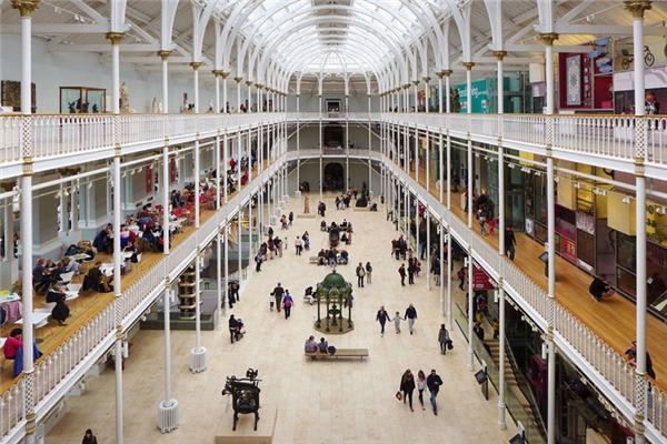 Bên trong Bảo tàng Quốc gia Scotland. (Ảnh: Stefanos Chronis)