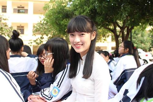 Khánh Vy hiện đang theo học hệ chất lượng cao tạiHọc Viện Ngoại Giao.