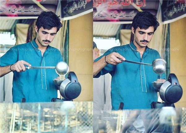 Arshad Khan là một chàng trai bán trà tại thủ đô Islamabad, Pakistan.
