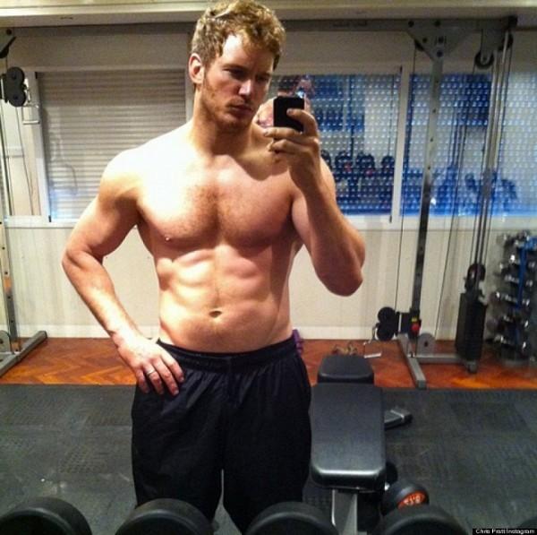 Diện mạo điển trai cùng với thân hình lí tưởng đã đem đến cho Chris Pratt nhiều cơ hội diễn xuất.