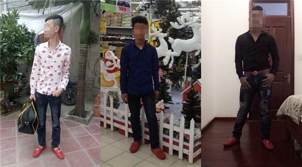 Có vẻ như giày đỏ đích thị đã trở thành xu hướng thời trang với các chàng trai rồi.(Ảnh: Internet)