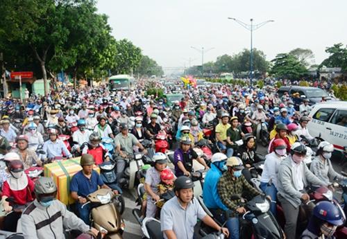 Để giải quyết tình trạng ùn tắc,Sở giao thông vận tải TP.Hồ Chí Minh đề xuất sẽ chuyển một số tuyến đường thành một chiều.