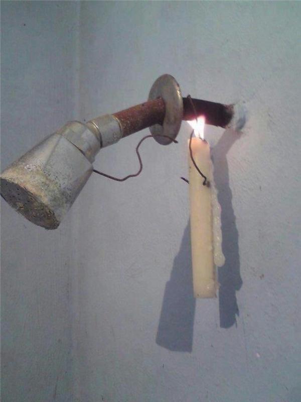 Đi tắm cũng không cần tốn tiền nấu nước hay lắp bình nước nóng.