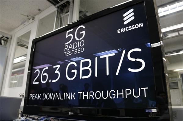 Tốc độ của mạng 5G tại Hàn Quốc. (Ảnh: internet)