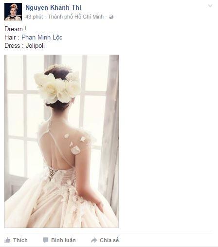 Không lâu sau khi Phan Hiển đăng tải hình ảnh bà xãtrên trang cá nhân, Khánh Thi cũng vui vẻ tiết lộ niềm hạnh phúc mà cô đã mơ ước bấy lâu nay. - Tin sao Viet - Tin tuc sao Viet - Scandal sao Viet - Tin tuc cua Sao - Tin cua Sao