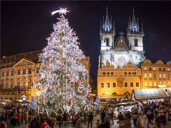 Giáng sinh năm nay, quảng trường Old Town của thủ đô Prague đã đầu tư mộtcây thông Noel siêu lớn từ Pecka, một thị trấn nằm ở phía đông bắc Prague. Cây thông này được phủ lên 3 tầng ánh sáng và trở thành một biểu tượng của thành phố trong những ngày Noel tới.