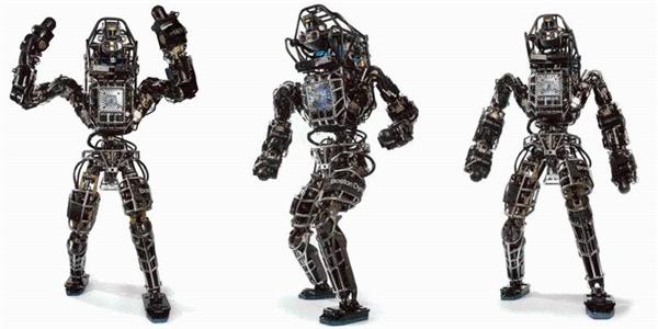 Cận cảnh Robot biết tự đứng dậy khi bị xô ngã của Google