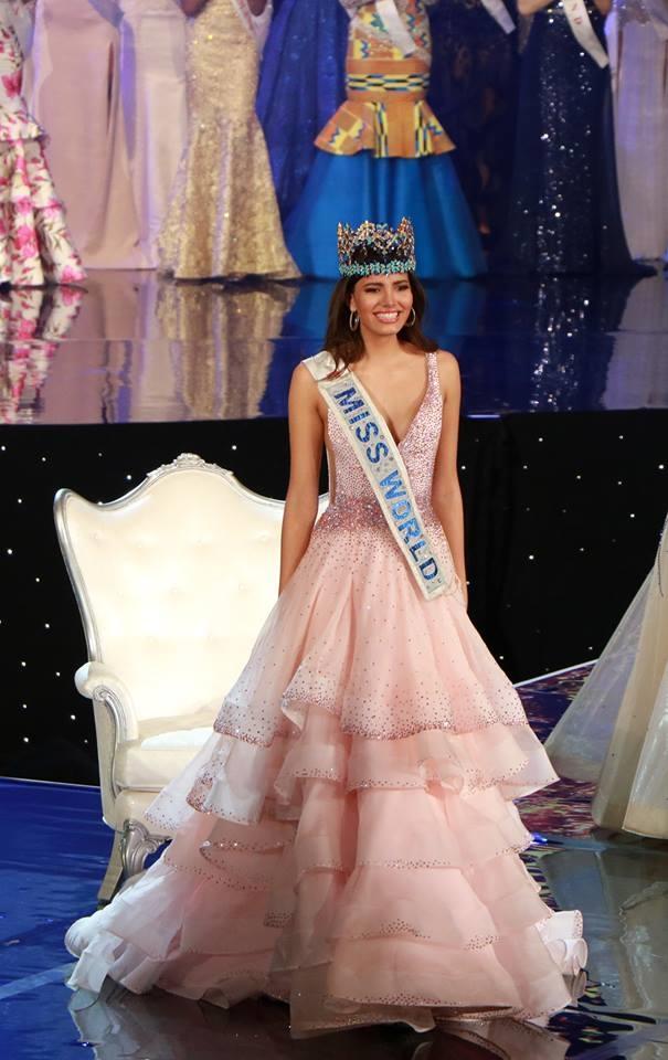 Hoa hậu Thế giới 2016 Stephanie