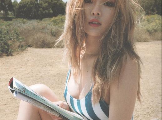 HyunA trở lại với hình ảnh nóng bỏng khiến fan đứng ngồi không yên
