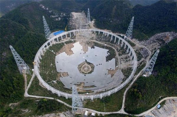 6 tín hiệu lạ được phát hiện tại tại đài quan sát Arecibo Observatory ở Puerto Rico. (Ảnh: internet)