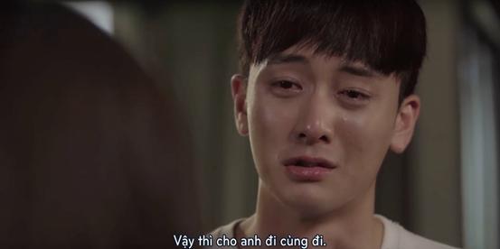 Ở cuối tập 7, Seon Tae đã ngỏ lời muốn ra đi cùng Mari.