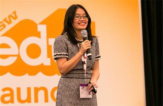 Hồng Vũ - cô gái trẻ, mạnh mẽ và tự tin khởi nghiệp bằng ứng dụng công nghệ đặc biệt.