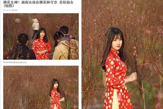 Trước đó, cô từng gây sốt với bộ ảnh xinh xắn như thiên thần trên báo Trung.