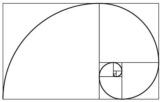 Tỉlệ vàng trong toán học. (Ảnh: internet)
