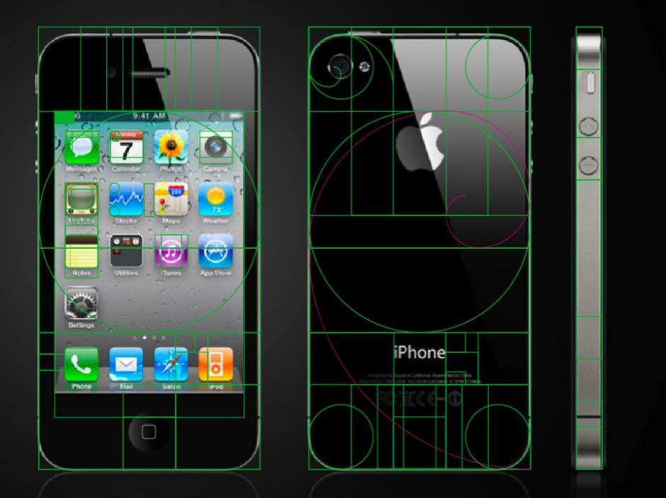 Vén màn bí mật tỉ lệ vàng của Apple trong thiết kế iPhone