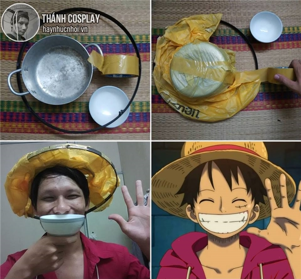 Luffyvới cái miệng cười to như cái bát luôn đây này.