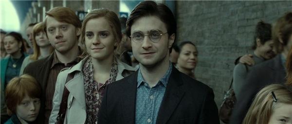 Bộ ba diễn viên Daniel - Emma - Rupert đã làm nên thành công của loạt phim chuyển thể đình đám.(Ảnh: Internet)