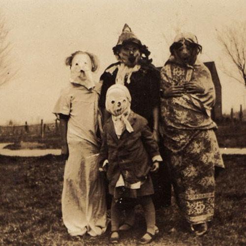 Halloween thời xưa.