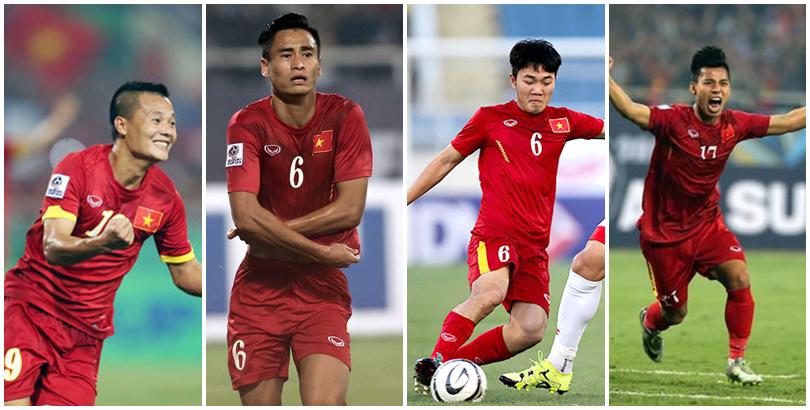 Thành Lương, Minh Tuấn,Xuân Trườngvà Văn Thanhđều được mời dự buổi trao giải Quả bóng vàng Việt Nam 2016 trong khi đội trưởng Lê Công Vinh thì không.