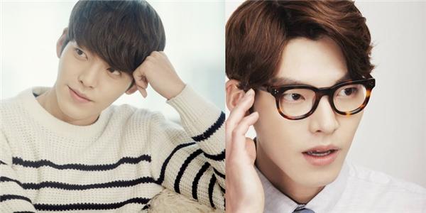 Kim Woo Bin dĩ nhiên cũng không thể bỏ lỡ kiểu tóc xu hướng này, tóc hai mái giúp nam diễn viên khoe được đôi mày sắc vô cùng lạ mắt và quyến rũ.