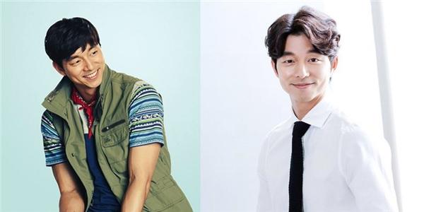 Nhờ kiểu tóc hai mái uốn cong nhẹ nhàng mà yêu tinh Kim Shin trông trẻ trung hơn rất nhiều, tóc hai mái cũng giúp Gong Yoo có diện mạo bảnh bao, cuốn hút hơn.