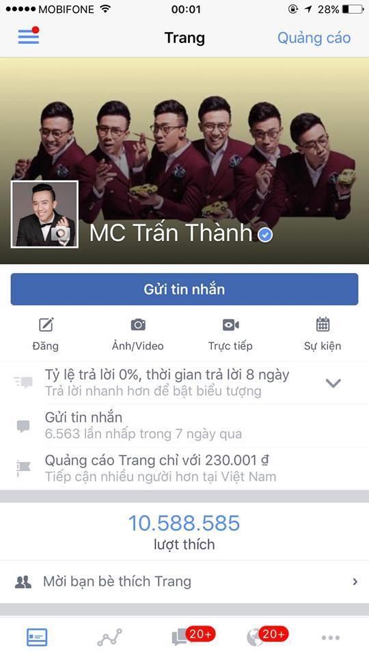 Vượt qua Hoài Linh, Trấn Thành trở thành sao nam hot nhất showbiz Việt - Tin sao Viet - Tin tuc sao Viet - Scandal sao Viet - Tin tuc cua Sao - Tin cua Sao