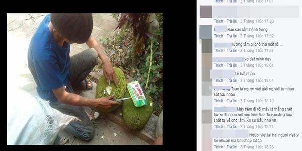 Và cho rằng đây là việc làm của người Việt hại người Việt.