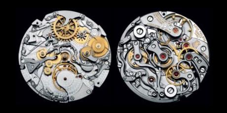Cơ cấu vô cùng phức tạp bên trong chiếc đồng hồ Patek Philippe đắc nhất thế giới. (Ảnh: internet)