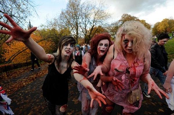 Nếu zombie là có thật thì cuộc sống loài người sẽ như thế nào? (Ảnh: Internet)