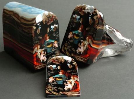 """Tác phẩm """"Loaf of art"""" được làm từ thủy tinh. (Ảnh: internet)"""
