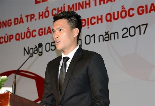 """Công Vinh khẳng định: """"CLB TP.HCM sẽ quyết tâm xây dựng một lối chơi đẹp, đá vì người hâm mộ và đá vì bản sắc bóng đá thành phố"""". (Ảnh: internet)"""