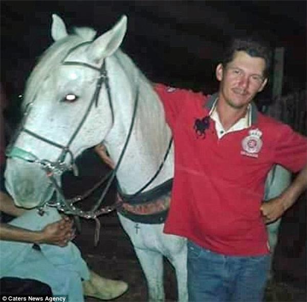Wagner de Lima Figueiredovà chú ngựaSereno.