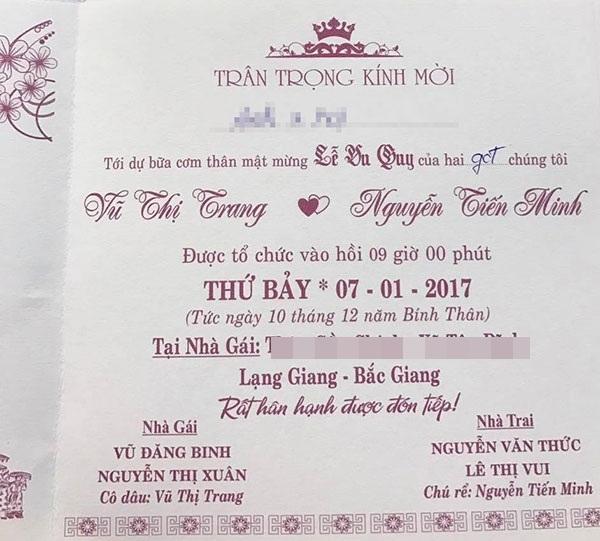 Tiệc đãi khách được tổ chức tại tư gia nhà gái. (Ảnh: FBNV)