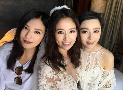 Lâm Tâm Như sinh con, Triệu Vy và Phạm Băng Băng đồng loạt chúc mừng
