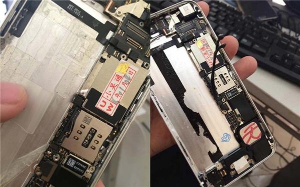 iPhone ruột là bản lock nhưng đã được độ lại thành bản quốc tế. (Ảnh: internet)