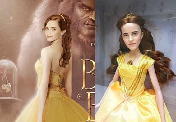 Búp bê trông không giống Emma Watson.