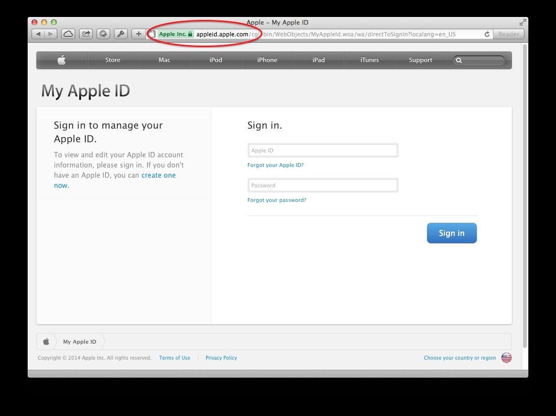 Website của Apple. (Ảnh: internet)