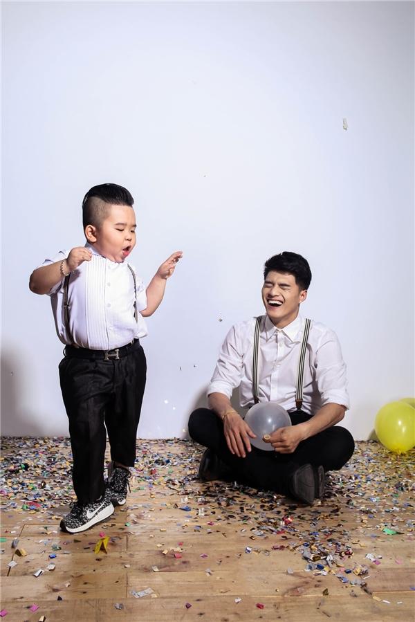Kutin trổ tài nhảy nhót khiến Lâm Vinh Hải cười