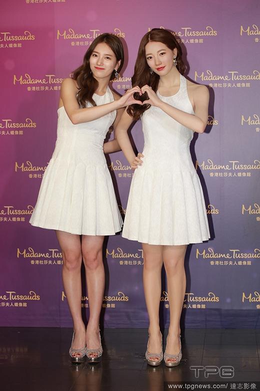 Suzy là nữ nghệ sĩ Hàn Quốc đầu tiên được tạc tượng sáp tại Bảo tàng Tượng sáp nổi tiếng nhất thế giới Madame Tussauds.