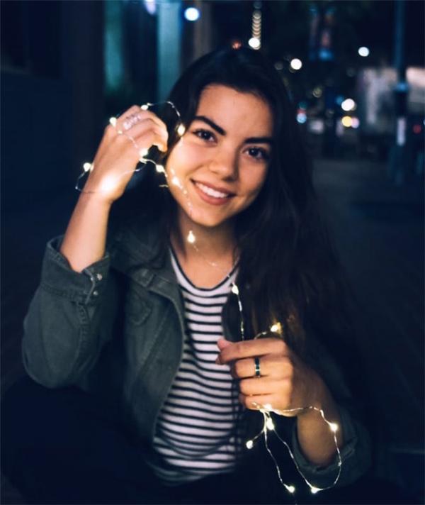 Santana Gutierrez - 17 tuổi - hiện đang học tập và sinh sống tại San Diego. (Ảnh: BuzzFeed)